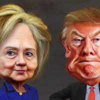 Trump o Clinton in Sud America