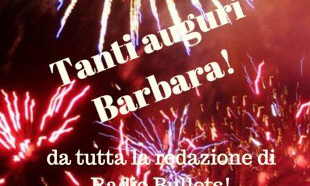 tanti auguri Barbara!