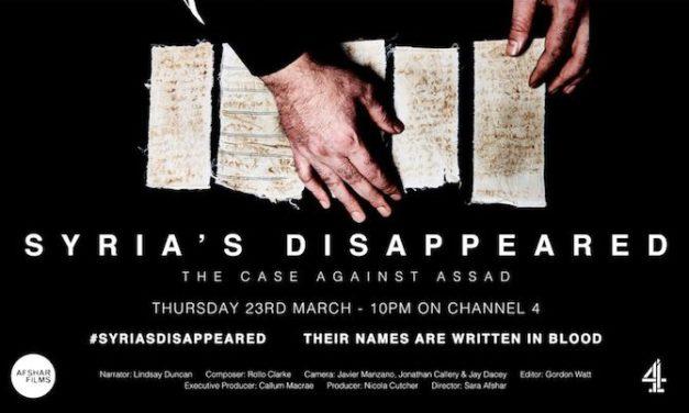Syria's Disapperead : il caso contro Assad di Sara Afshar