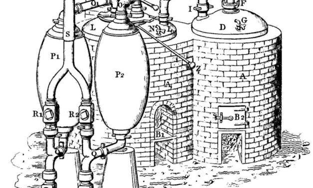 Un caffè con lo storico – La prima macchina a vapore
