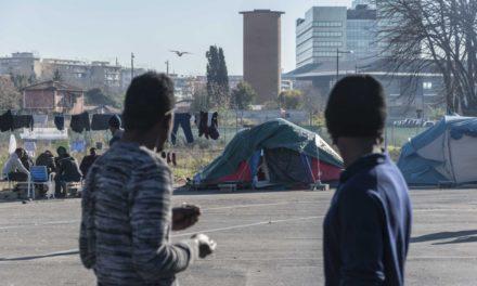 Roma, città chiusa a profughi e rifugiati